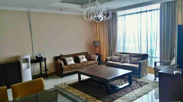 Cozy living 2BR in central jakarta thamrin