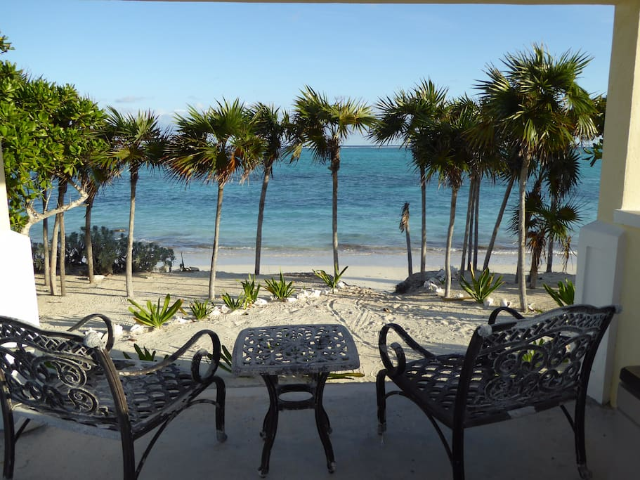 Enjoy coffee or cocktails from the gazebo with this amazing view!