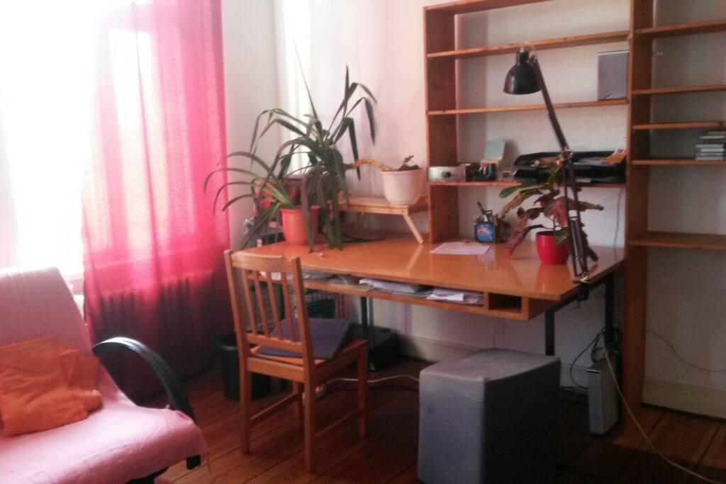 Arbeitsbereich / Work space