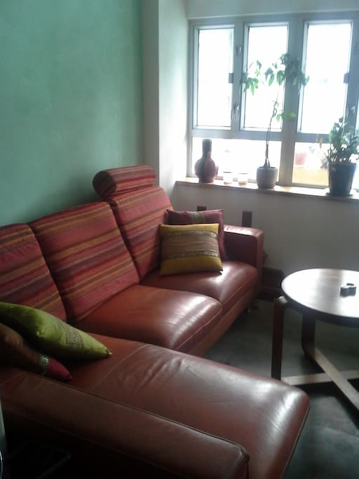 sofa for the eventual 3rd guest