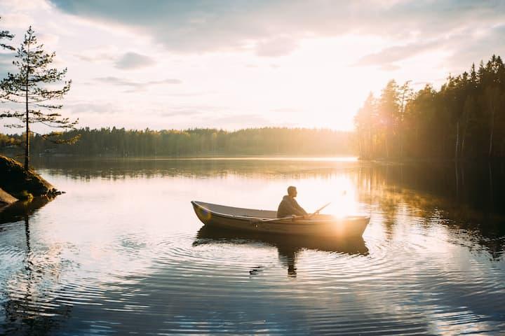 Kallio Cabin at Katve Nature Retreat near Helsinki