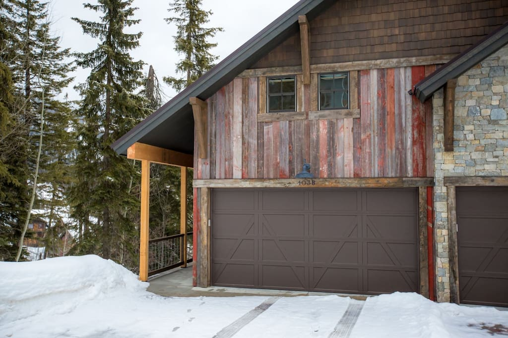 The Barndance townhome located next to the Home Again Ski Run