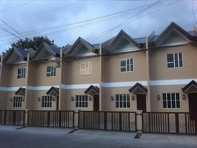 A 2 storey newly opened apartment w/ parking.