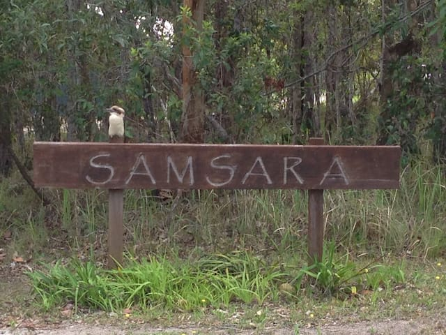 'Samsara Bush Retreat' in Yamba's Hinterland - James Creek - Cabin