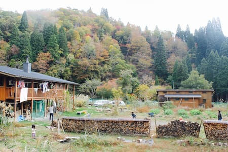 A little house in peaceful valley - Takashima - Srub