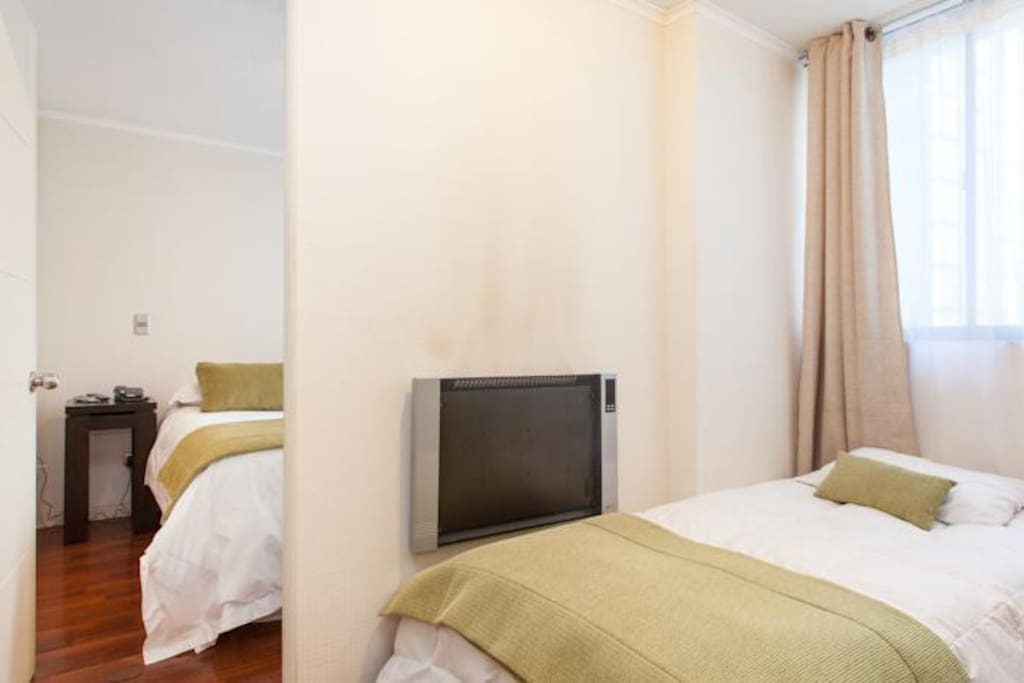 camas separadas ideal para familias o amigos