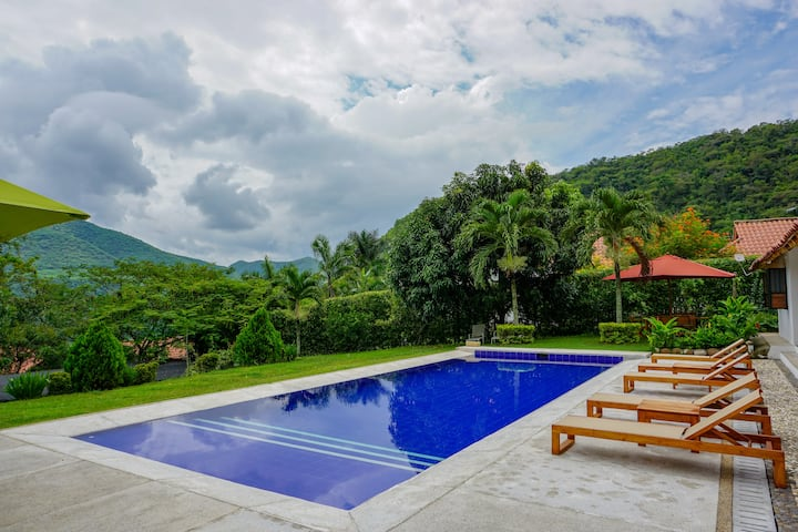 Amazing Private Villa at Exclusive Club in Apulo!