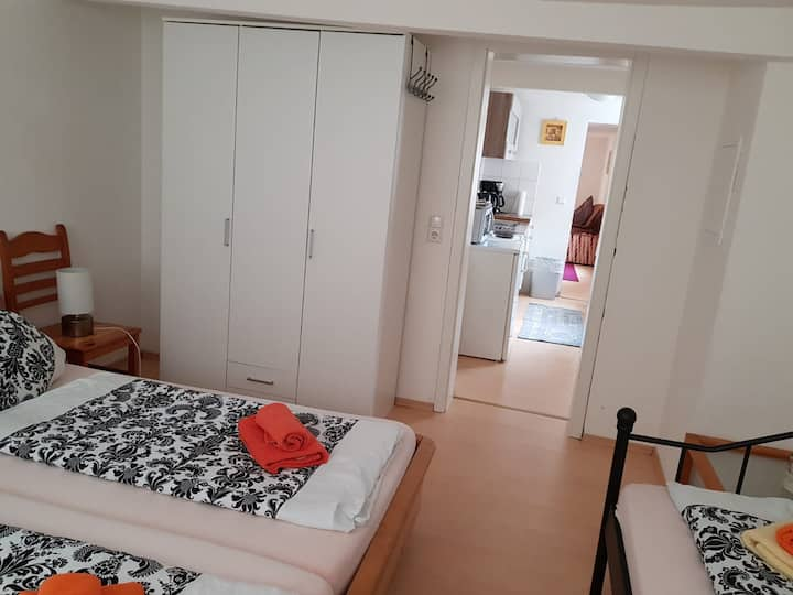 Fulda Wohnung im Barockviertel und Dom