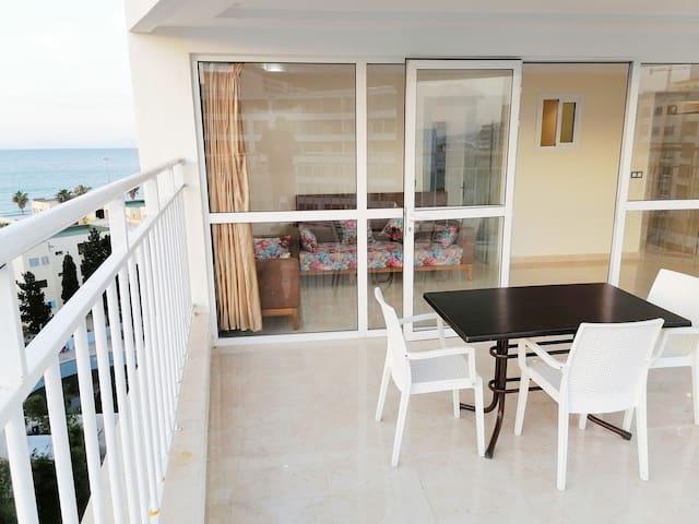 Appart Terrasse MALABATA Beach