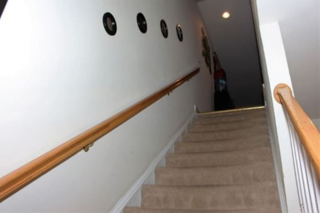 Stair up to next level