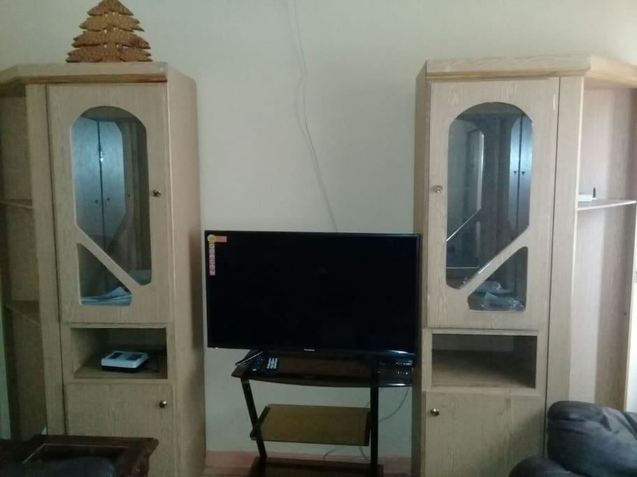 TV with Subscribed Kwese Satellite receiver