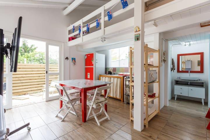 Casa de praia com hidromassagem. - Florianópolis - Haus