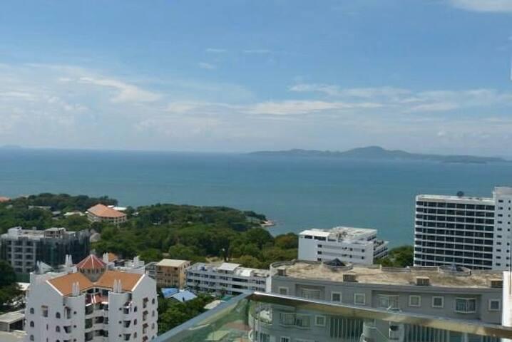 3min.walk to a nice beach - Pattaya - Appartement