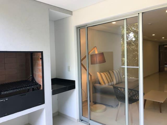 Ambiente relajado, dos dormitorios y amenities