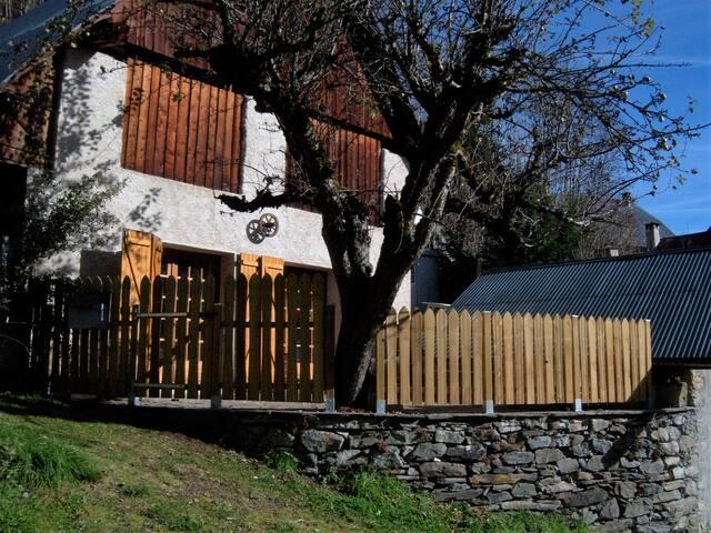 Rez de chalet terrasse sud WIFI (Les Sybelles) - Saint-Colomban-des-Villards - Apartment