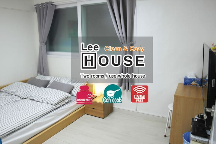 Lee House-cozy and clean, Nokbon Sta.Line3(5min) - Eunpyeong-gu