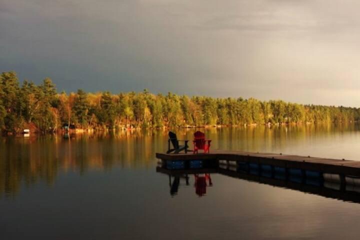 The Trillium Hillside Escape on Bobs Lake
