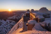 Observatoire du Pic du Midi accessible depuis la Mongie (à 15 minutes)
