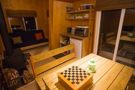 La Cabane d'ici : Sous-bois - Rawdon - Cabin