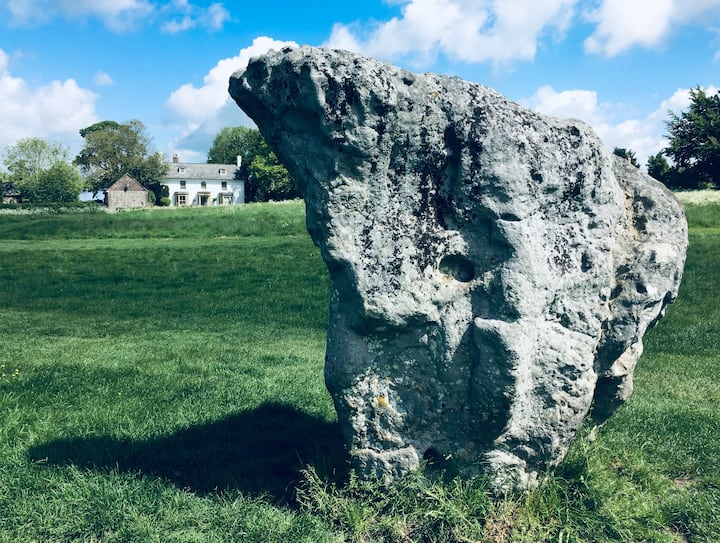 Sleep inside a stone circle at The Lodge Avebury