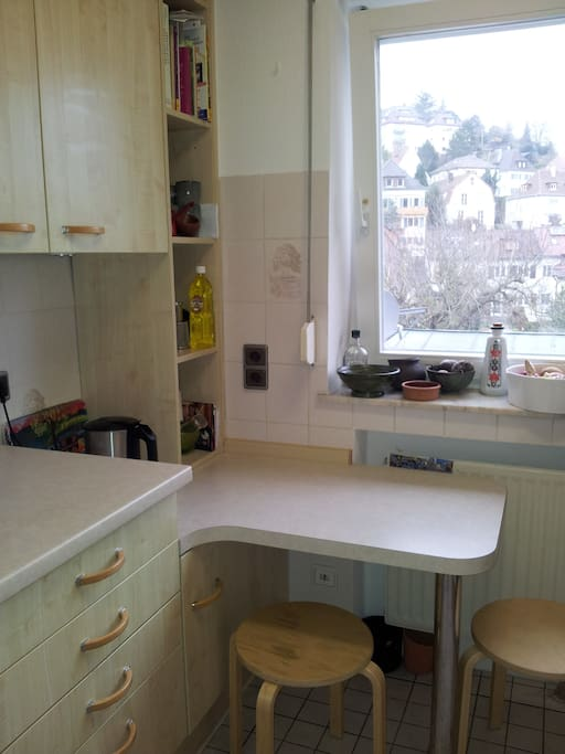 Little but well-resourced kitchen