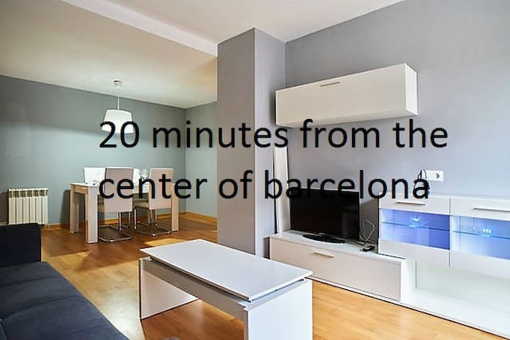 20 minutes from the center of barcelona