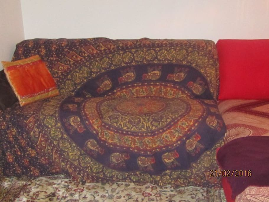 sofa 2 places vrai matelas latex