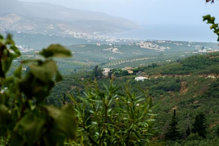 Top of the Cretan Hill Villa with gorgeous View - Vouves