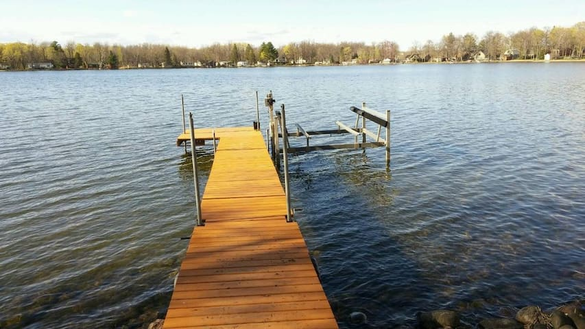 Mille Lacs Cabin Rental on Secluded Bay