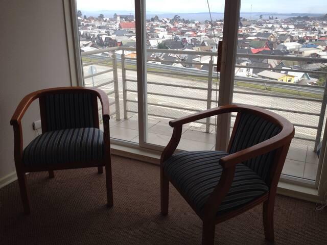 Living con vista a la ciudad de puerto montt
