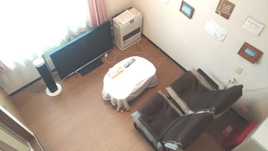 Sunny Room/5min-walk fm subway and Airport Bus