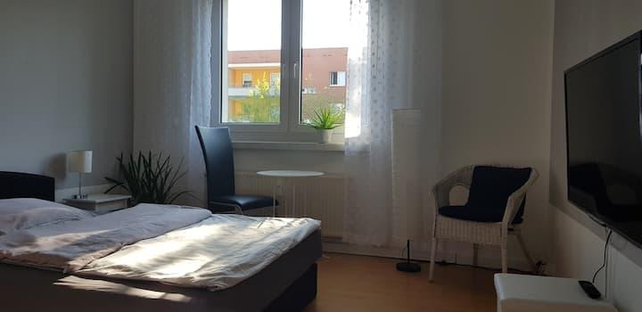 Zimmer in ruhiger Umgebung