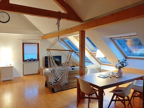 Romantická dvojizbová rezidencia na okraji Spessartského lesa