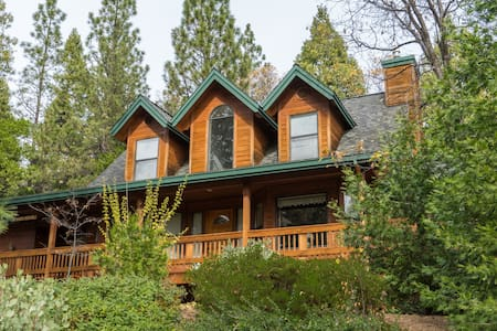 Gorgeous cabin for up to 8 people, with hot tub! - Arnold
