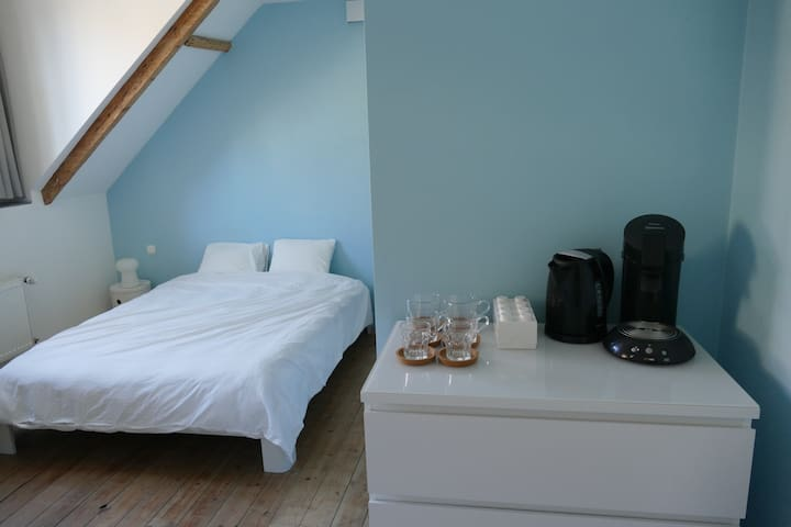Spacious room with private bathroom - Sint-Gillis - House