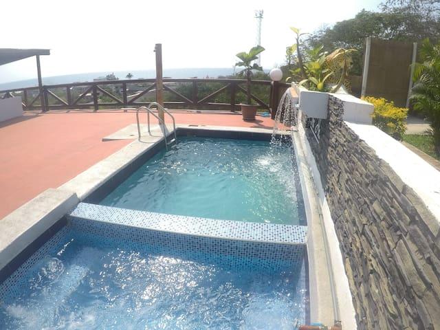 The Heights in Montanita, Ocean Vista Villa