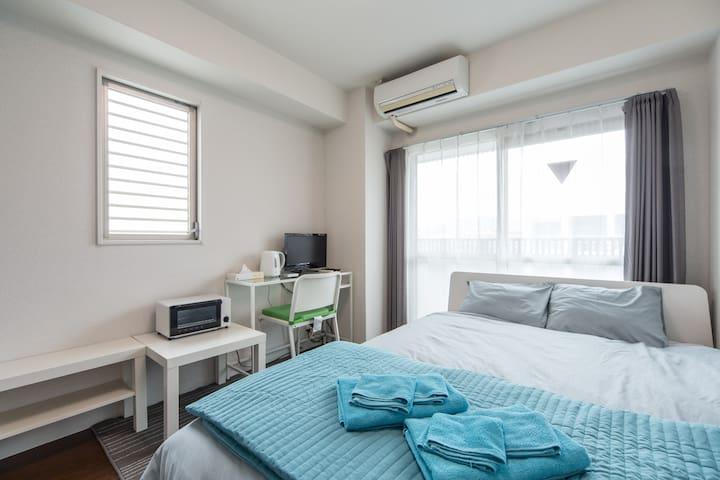 5mins sijyo-omiya sta & free wifi - Kyōto-shi - Apartemen