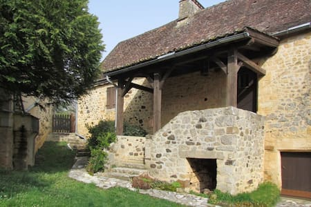 Cosy stone house in Midi-Pyrenées - Saint-Martial-de-Nabirat