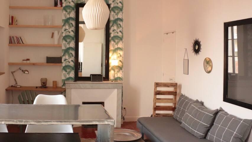 charmant appartement cosy chic ! - Marsiglia - Appartamento
