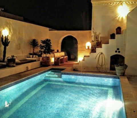 Dar Daoud - Traditional Houch - Djerba - Erriadh