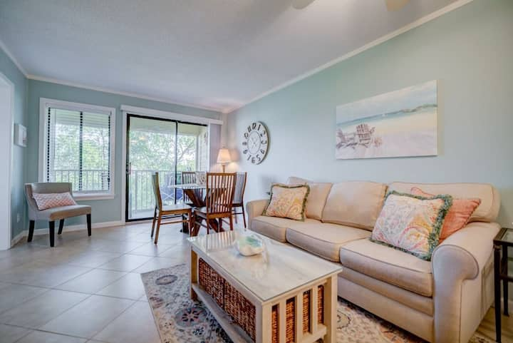 Gorgeous beach villa 2BD/2BA at Hilton Head Resort