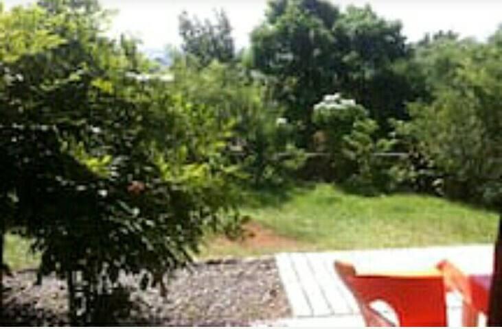 Studio avec grand jardin