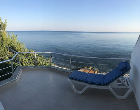 Beachfront Triplex Villa in Esenköy