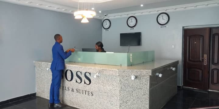 DELUXE ROOM AT BOSS HOTEL *****