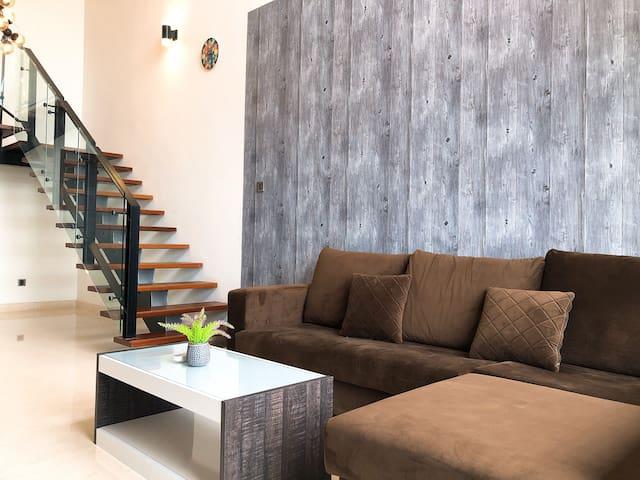 Jk V@Summer Comfy & Cozy Duplex 2room 1-6 pax WiFi