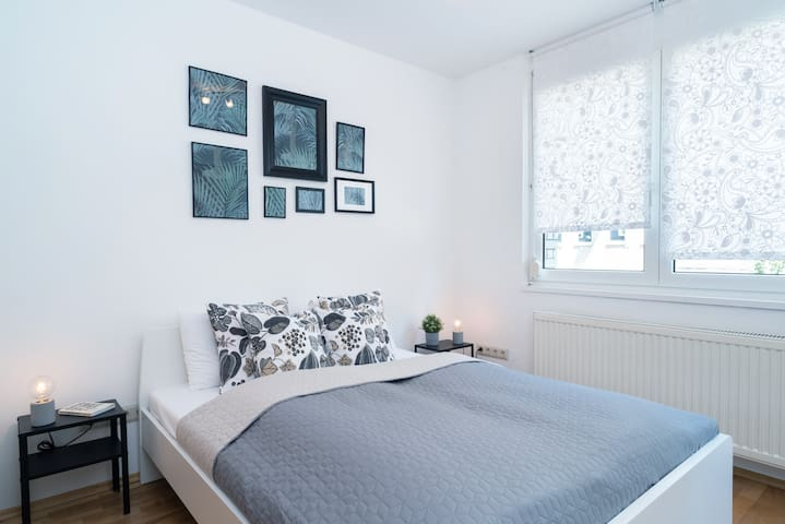 Nice, quiet apartment with balcony at Buda
