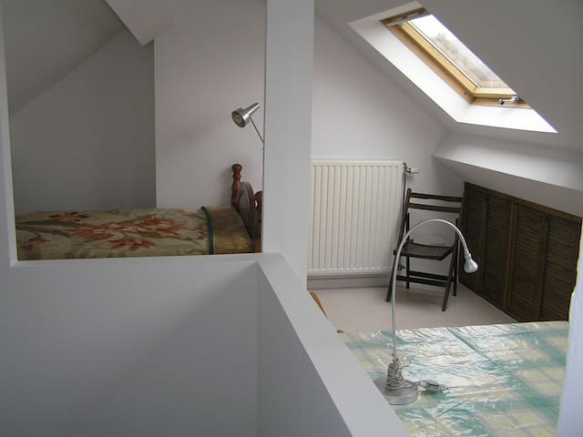 Nice luminous room, close to center of Brussels. - Ixelles - Bed & Breakfast