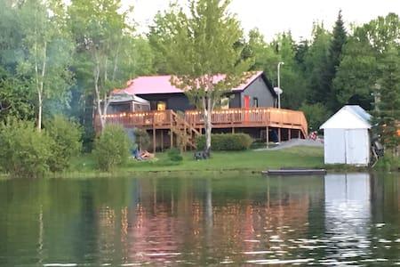Familly lake house - Sainte-Paule
