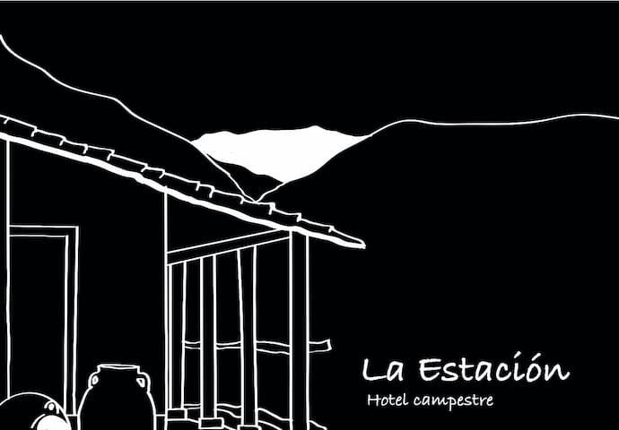 La Estación Campestre - Habitación La Ruana