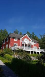 Dobbeltrom med kjøkkenkrok i Veøy Prestegård